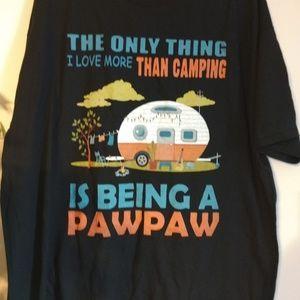 Pawpaw  camping t-shirt 2XL NWOT